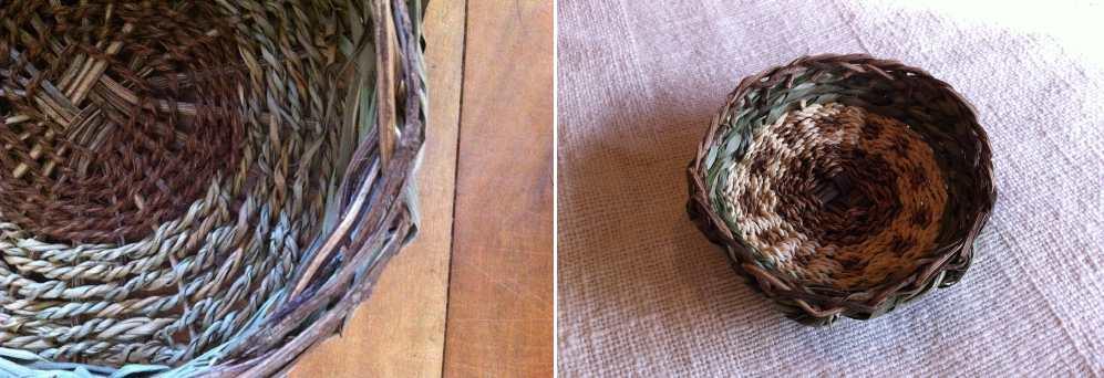 木のヒゲの〈自然素材を編む〉2015-5月
