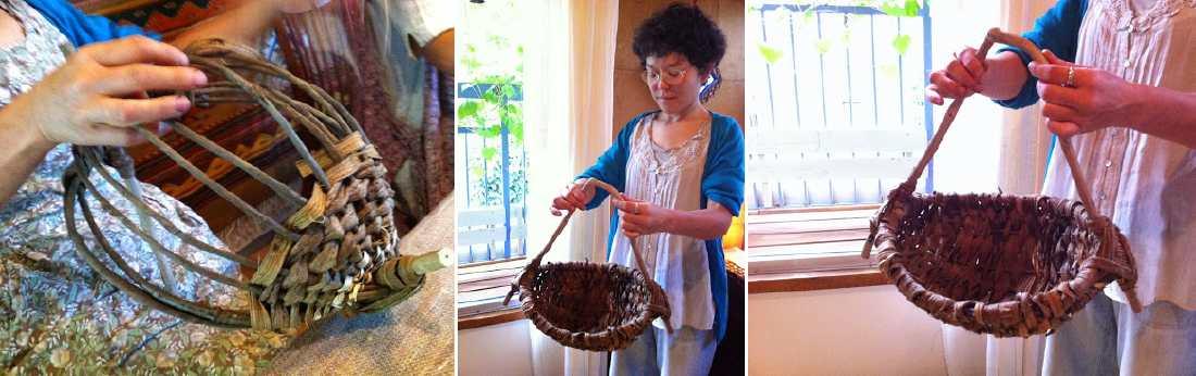 木のヒゲ〈自然素材を編む〉作品例-2