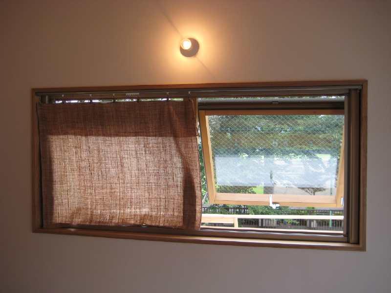 自然栽培綿カーテン納品事例 0808