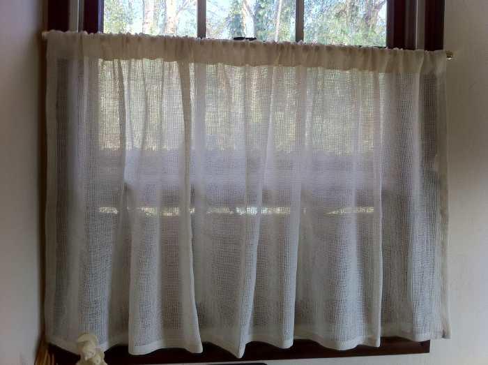 自然栽培綿カーテン納品事例 1212