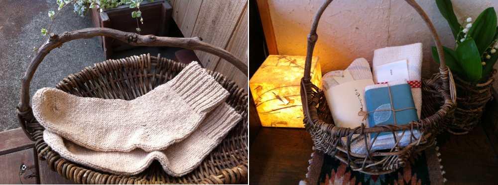 自然栽培綿の靴下「あしごろも」
